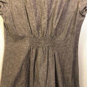 Derek Heart Dresses - Derek Heart Button Front Mini Dress / Tunic